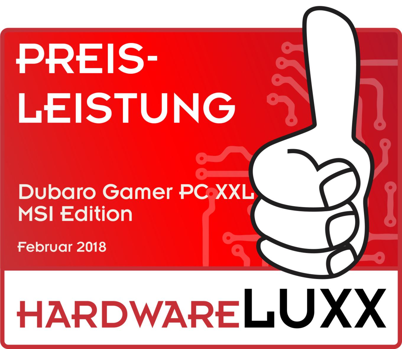 hardwareluxx award