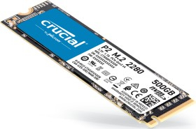 500GB Crucial P2 M.2 PCIe 3.0 x4 NVME (L 2300MB/s ; S 940MB/s)