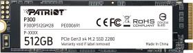 512GB Patriot P300 M.2 PCIe 3.0 x4 NVME (L 1700MB/s ; S 1200MB/s)