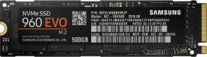 500GB Samsung 970-Evo Plus M.2/M-Key (PCIe 3.0 x4) SSD