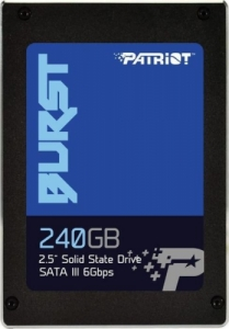 SSD 240GB Patriot Burst (555MB/s - 500MB/s)