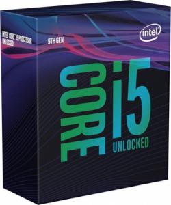 Intel i5-9600K mit 6x 3.7GHz / 4.6GHz Turbotakt, 9MB Cache