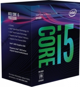 Intel i5-9400F (6x 4.10 GHz Turbotakt, 9MB)