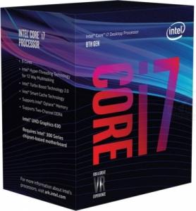 Intel i7-8700 (6x 4.60 GHz Turbotakt, 12MB)