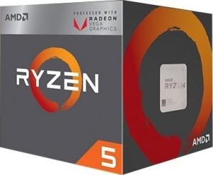 AMD Ryzen 5 2400G (4x 3.6GHz / 3.9 Turbo)