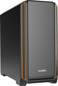 be quiet! Silent Base 601 Orange -schallgedaemmt-
