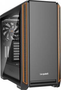 be quiet! Silent Base 601 Orange mit Glasfenster