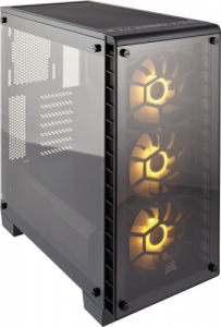Corsair Crystal Series 460X RGB mit Glasfenster