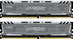 16GB (2x8GB) Crucial DDR4 3000MHz Ballistix