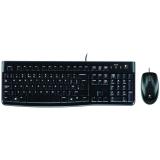 Logitech Keyboard MK120 USB+Maus