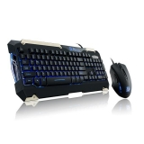 Tt eSPORTS Commander Gaming Gear Combo, blau