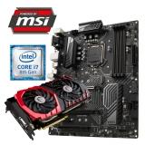 GAMING SPARSET MSI Z370PC Pro + i7-8700 + GTX1080 GAMING X